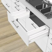 Sink Drawer D Heights (199mm) Silk White