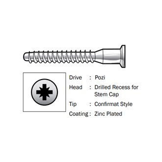 Screws Speciality - Director Screws Pozi 5.0 x 50mm - (500)
